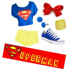 Superman Inspired Outfit