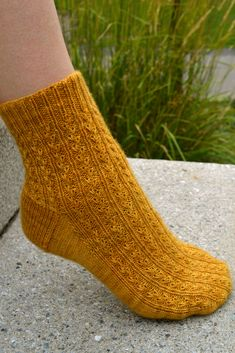Ravelry: Year of Plenty socks pattern by Debbie Sullivan
