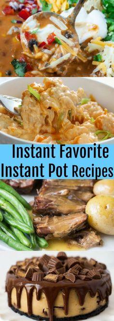 Favourite Instant Pot Recipes