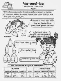 Cantinho Das Atividades Medidas De Capacidade Comics Education