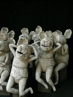 Sculptures Céramiques, Sculpture Art, Garden Sculpture, Ceramic Art, Ceramics, Statue, Artists, Ceramica, Pottery
