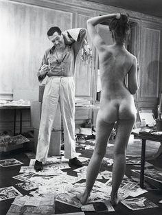 stanley kubrick, peter arno with model Look Magazine, Magazine Photos, Girl Reading, Arno, Anatomy Reference, Stanley Kubrick, Star Art, Photo Art, Model