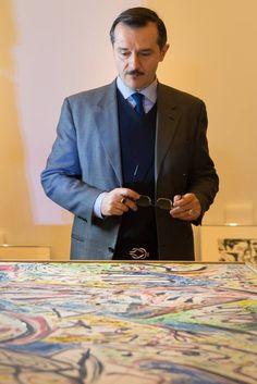 "Allestimento mostra ""Da Kandinsky a Pollock. La grande arte dei Guggenheim"" #KandinskyPollock"
