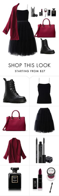 """Untitled"" by juliette-1717 on Polyvore featuring мода, Dr. Martens, T By Alexander Wang, MICHAEL Michael Kors, Chicwish, WithChic, Rodial и Chanel"