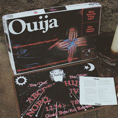 Vintage Canadian ouija board complete with instructions