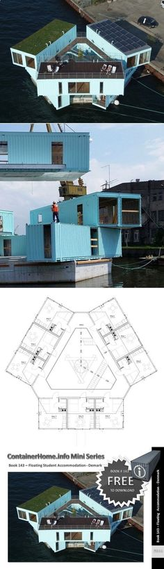Container House - Shipping Container Homes Book Series – Book 143 - Shipping Container Home Plans - How to Plan, Design and Build your own House out of Cargo Containers: - Who Else Wants Simple Step-By-Step Plans To Design And Build A Container Home From Scratch? #ShippingContainerHomePlans