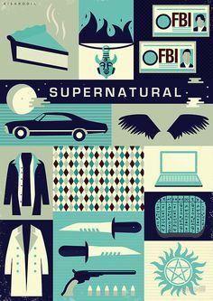 Supernatural Poster by risarodil