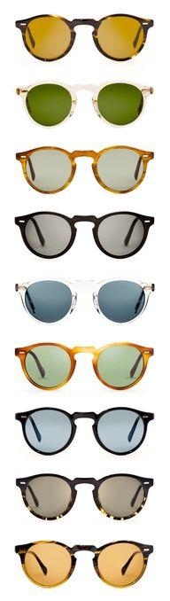 Glasses -love round frames