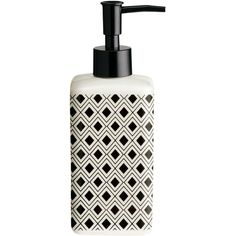 H&M Soap dispenser ($12) ❤ liked on Polyvore featuring home, bed & bath, bath, bath accessories and h&m