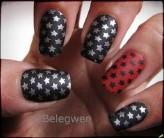 Nail Art by Belegwen: Rokkikynnet