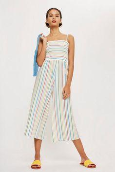 Rainbow Striped Jumpsuit
