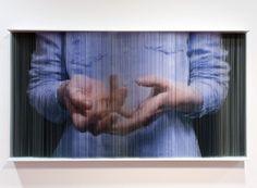 Hong Sung Chul   string sculpture