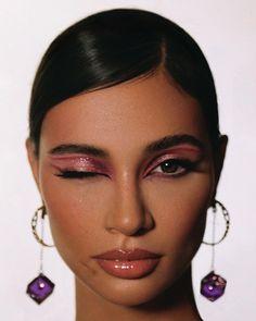 Makeup Eye Looks, Creative Makeup Looks, Cute Makeup, Glam Makeup, Pretty Makeup, Skin Makeup, Makeup Inspo, Makeup Art, Makeup Inspiration