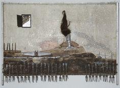 "Władysław Hasior, ""Ikar"" / ""Icarus"", 1962"