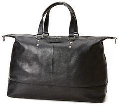Frye Ben Artisan Leather Duffel Bag, Black