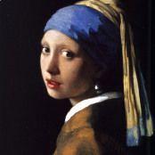 Oil painting reproductions - Jan Vermeer Van Delft: Girl with a Pearl Earring c. 1665
