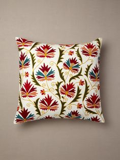 Suzani Chinarose pillow