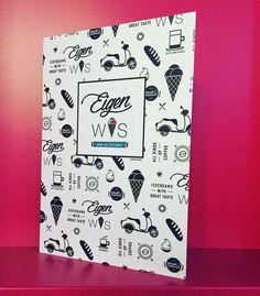 Onze nieuwe menukaart voor ijs, lunch en koffie! www.eigenwys.com