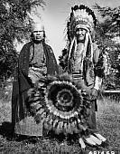 Chief Paul Charlo and Wife. 1956.