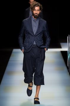 Sfilata Moda Uomo Giorgio Armani Milano - Primavera Estate 2016 - Vogue