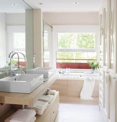 modern bathroom S. Apartment Solutions, Home Interior Design, Modern Bathroom, Contemporary Baths, Bathroom Decor, Interior, Smart Home Design, Modern Style Decor, Bathroom Design