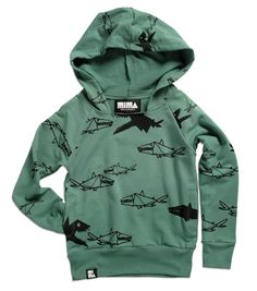 Mini & Maximus tiny sharks hoody - Springstof - The online shop for Little Fashionistas