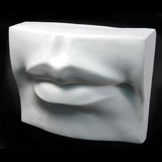Plaster Casts for Drawing | Drawing Plaster Cast Mouth (Giant) | Bust Head | Pinterest