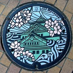 Japanese manhole covers by MRSY-1