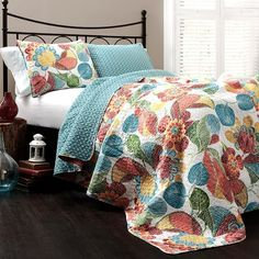 Micha 3 Piece Reversible Coverlet Set