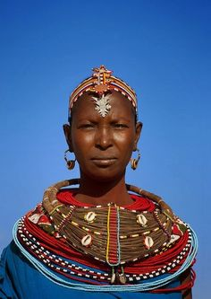Samburu woman - Kenya by Eric Lafforgue - via Jean-Pierre Truant