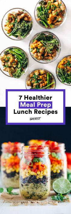 Healthy Food Inspiration: Meal Prep Ideas To Kickstart Your New Healthy Lifestyle! Lunch Meal Prep, Easy Meal Prep, Healthy Meal Prep, Healthy Snacks, Easy Meals, Healthy Eating, Healthy Recipes, Pre Made Meals, Prepped Lunches