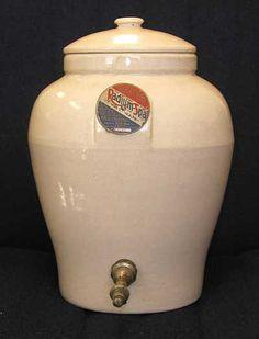 """Radium Spa. Radium infused pottery """"energized"""" the water."""