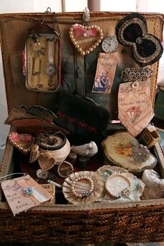 found objects - a case full of inspiration