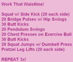 How do you do pretzel leg lifts? And a squat jump with dumbell press?