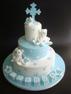 pastel para bautizo30