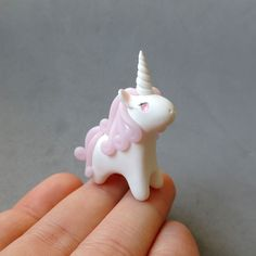 Pink Rose Quartz Gemstone Unicorn Figure by cbexpress on Etsy https://www.etsy.com/listing/249854978/pink-rose-quartz-gemstone-unicorn-figure