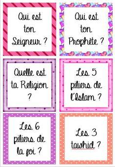 Rituel ISLAM Version fille 12 questions 'Aquida simples à ritualiser