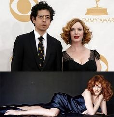 Love is Blind Celebrities [9]: Christina Hendricks and Geoffrey Arend