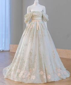 Dream Wedding Dresses, Bridal Dresses, Fantasy Gowns, Fairytale Dress, Gowns Of Elegance, Beautiful Gowns, Dream Dress, Pretty Dresses, Designer Dresses
