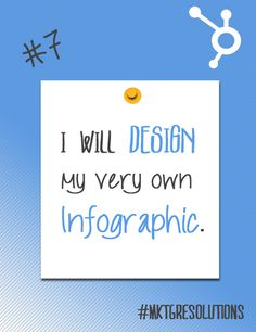 2013 Marketing Resolutions: Day 7 - Design your very own infographic using PowerPoint!