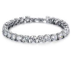 Platinum Metal Bracelet For Women Platinum Plated Bracelet Plating: Platinum Plated Stone:Cubic Zirconia High Quality Quality: AAA Nickel free, Lead free, Non-Allergic. American European Standard. #JewelleryIndia #FashionJewelleryIndia #BraceletsIndia #EarringsIndia #FashionEarrings #Bracelets