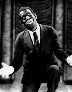 Al Jolson ... the most famous vaudevillian of the time...famous for his black makeup & for the song My Mammy