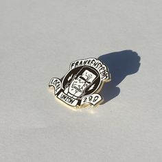 Image of {Rad Pins} Frankensteins Union Lapel Pin in Gold