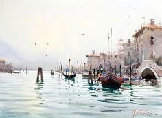 Watercolor will always be a concerto versus the symphony of oil... It`s how it is. The two are as valid but should not compete. Joseph Zbukvic