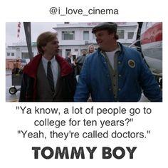 Tommy boy. Movie.