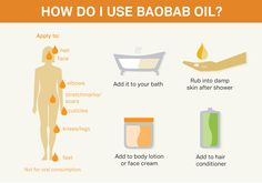 How to use Baobab oil - Eco products Baobab Powder, Baobab Oil, Oil For Dry Skin, Natural Skin Care, Natural Beauty, Carrier Oils, Stretch Marks, Hair Oil, Body Lotion