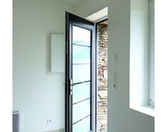 Porte d'entrée contemporaine vitrée | Komilfo
