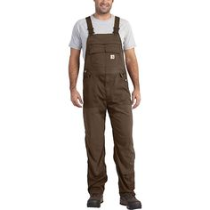 Carhartt 101981 Force Extremes™ Bib Overall - The best possible overalls for Summer! Carhartt Overalls, Bib Overalls, Dungarees, Insulated Coveralls, Mens Outdoor Clothing, Hard Working Man, Mens Attire, Outdoor Outfit, Work Wear