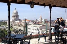View from the roof of the Hotel Parque Central. #Cuba #Havana #Travel