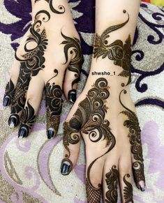 Hi everyone , welcome to worlds best mehndi and fashion channel Zainy Art . Hope You guys are liking my daily update of Mehndi Designs for Hands & Legs Nail . Floral Henna Designs, Back Hand Mehndi Designs, Legs Mehndi Design, Henna Art Designs, Mehndi Designs 2018, Mehndi Designs For Girls, Mehndi Designs For Beginners, Dulhan Mehndi Designs, Mehndi Design Photos
